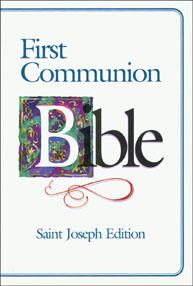 ST. JOSEPH FIRST COMMUNION BIBLE (N.A.B./Boys)