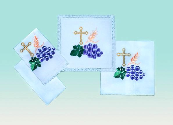 Grape and Vine Leaf  Linen Set