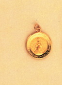Round Miraculous Medal