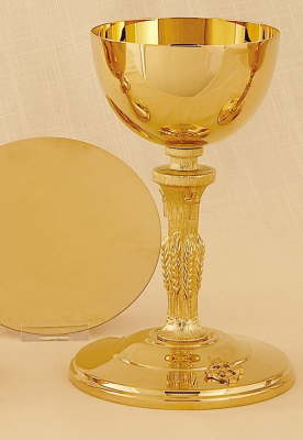 Chalice and Scale Paten