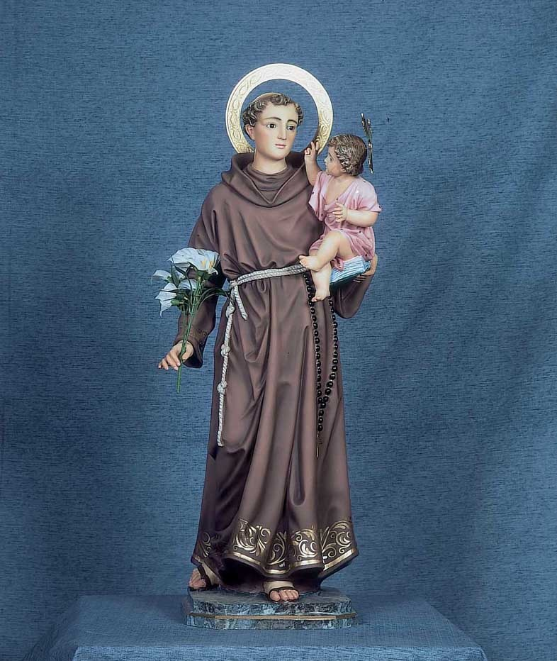 55.1'' St. Anthony of Padua