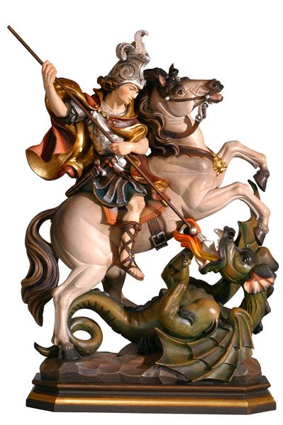 11'' St. George on horse