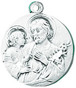 St. Joseph Medals W/Chain