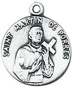 St. Martin de Porres Medal W/Chain