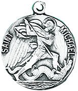 St. Michael Medal W/Chain