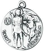 St. Sebastian Medal W/Chain