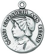 St. Elizabeth Ann Seton Medal W/Chain