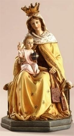 8'' Our Lady Of Mount Carmel