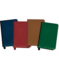 Liturgy Of The Hours Leather Zipper Case
