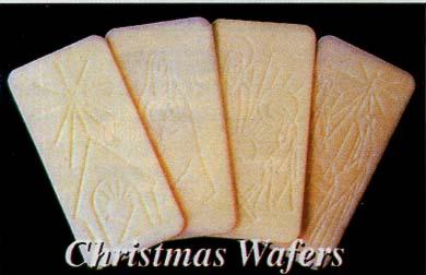 Christmas Wafer