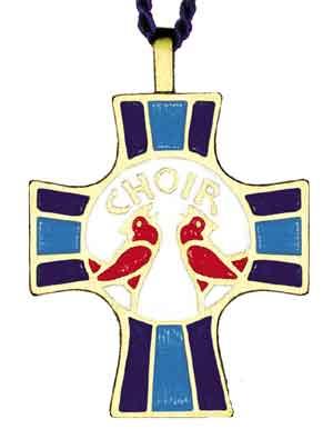 Choir Member Cross Pendant