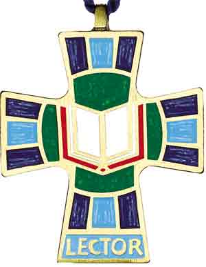 Lector Cross Pendant