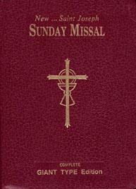 ST. JOSEPH SUNDAY MISSAL (Giant Type Edition)