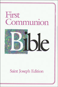 ST. JOSEPH FIRST COMMUNION BIBLE (N.A.B./Girls)