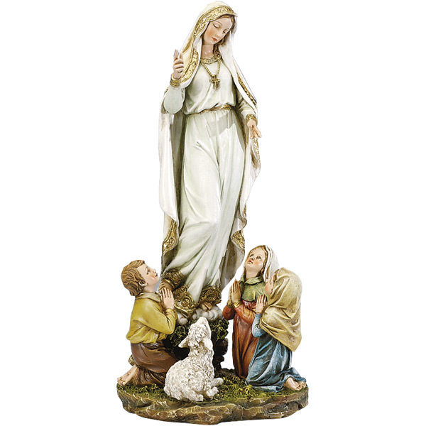 12'' Our Lady of Fatima