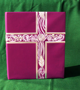 Service Binder Purple