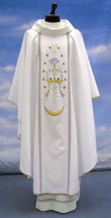 Solivari Chasuble Marian