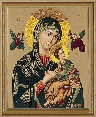 Our Lady Of Perpetual Help Framed Picture