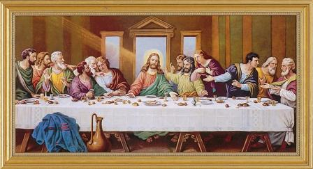 The Last Supper by Zabateri Framed Picture