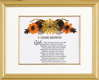 House Blessing Framed Picture