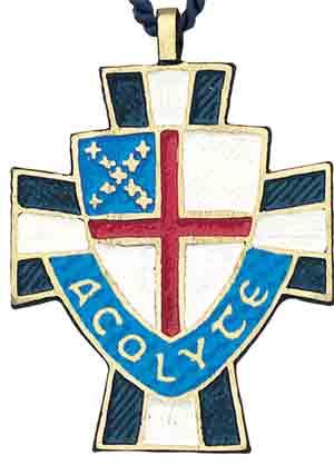 Episcopal Acolyte Cross Pendant