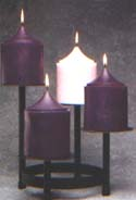 Candles For 4-Tiered Advent Set