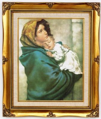 Madonna of the Street Framed Picture