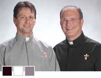 Deacon Clergy Tab Colar Shirt