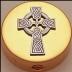 Celtic Cross Pyx