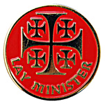 Lay Minster Pin