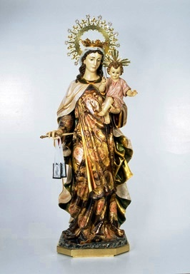 55.1'' Our Lady of Mt. Carmel