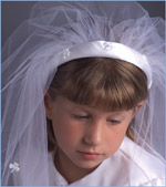 Irish Communion veil