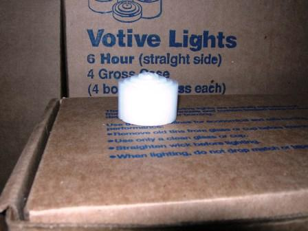 6 Hr. Straight Side Votive