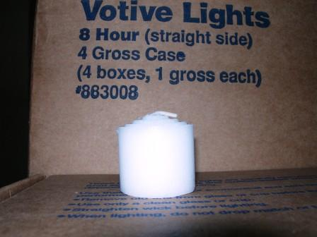 8 Hr. Straight Side Votive