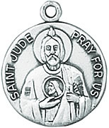 St. Jude Medal W/Chain
