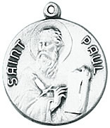 St. Paul Medal W/Chain