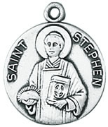 St. Stephen Medal W/Chain