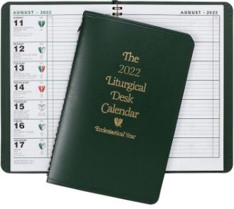 Liturgical Desk Calendar 2022