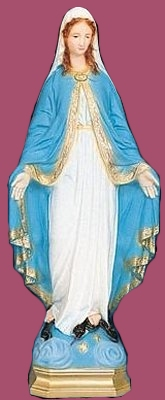 24 inch Our Lady Of Grace - Full Color Finish