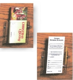 Envelope or pamphlet holder