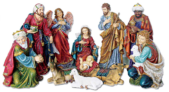 42'' Nativity Set