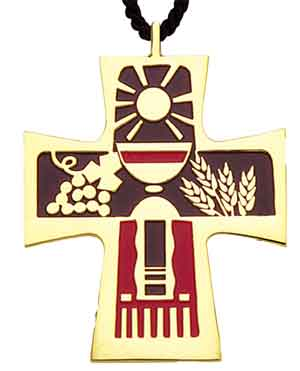 Table of the Lord Cross Pendant