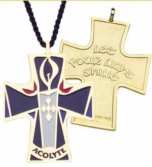Acolyte Cross Pendant